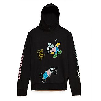 Opening Ceremony Sweat-shirt Mickey Mouse à capuche noir pour adultes