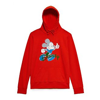 Opening Ceremony Mickey Mouse Red Hooded Sweatshirt For Adults