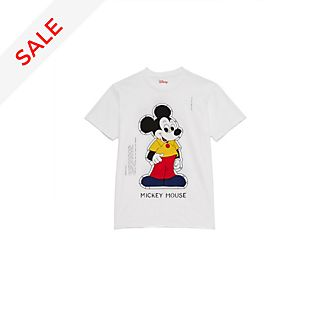 Opening Ceremony Mickey Mouse Paper Doll T-Shirt For Adults