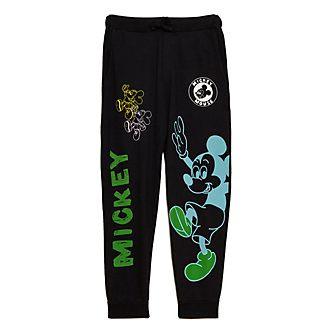 Opening Ceremony Mickey Mouse Black Jogging Bottoms For Adults