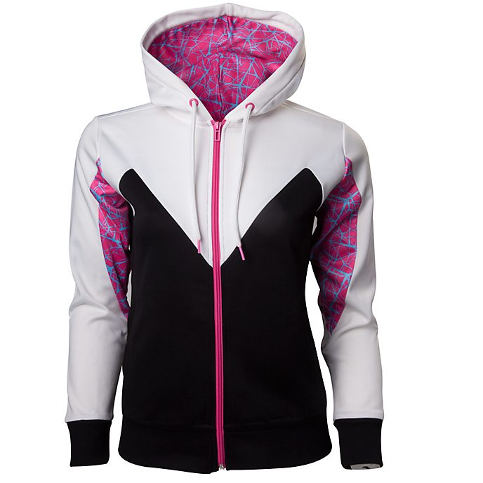 Spider-Gwen Women's Hooded Sweatshirt, Spider-Man: Into the Spider-Verse