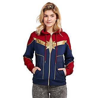 Sudadera con capucha disfraz para adultos Capitana Marvel, Disney Store