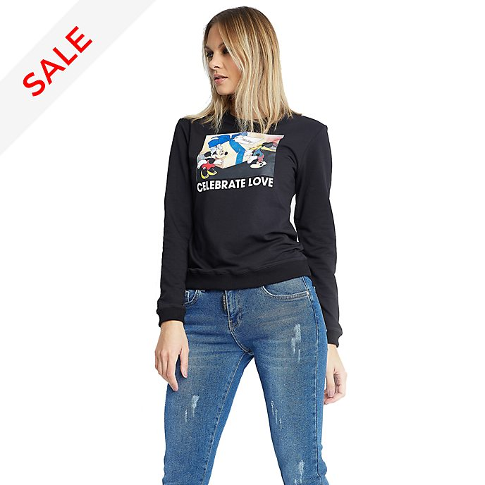 Sugarbird Mickey and Minnie Fordett Sweatshirt For Adults