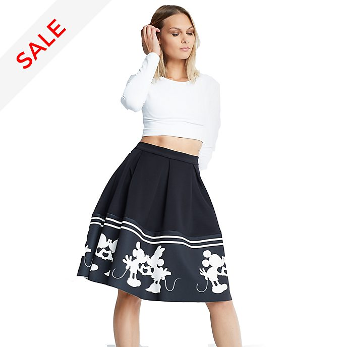 Sugarbird Mickey and Minnie Alana Skirt For Adults