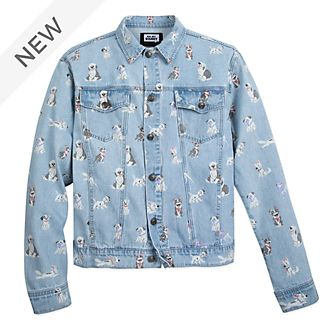 Disney Store Oh My Disney Dogs Denim Jacket For Adults