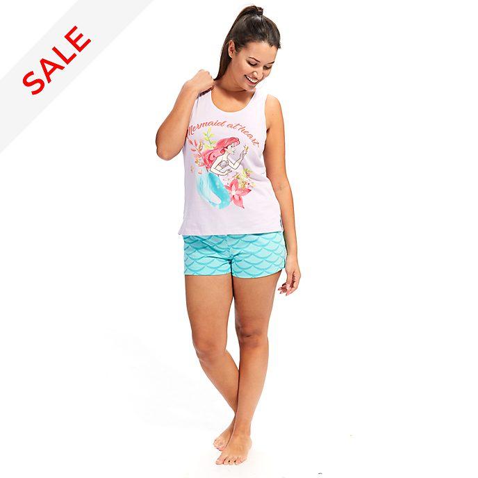Disney Store The Little Mermaid Ladies' Shortie Pyjamas