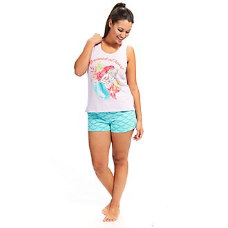 Disney Store The Little Mermaid Ladies' Shortie Pyjamas