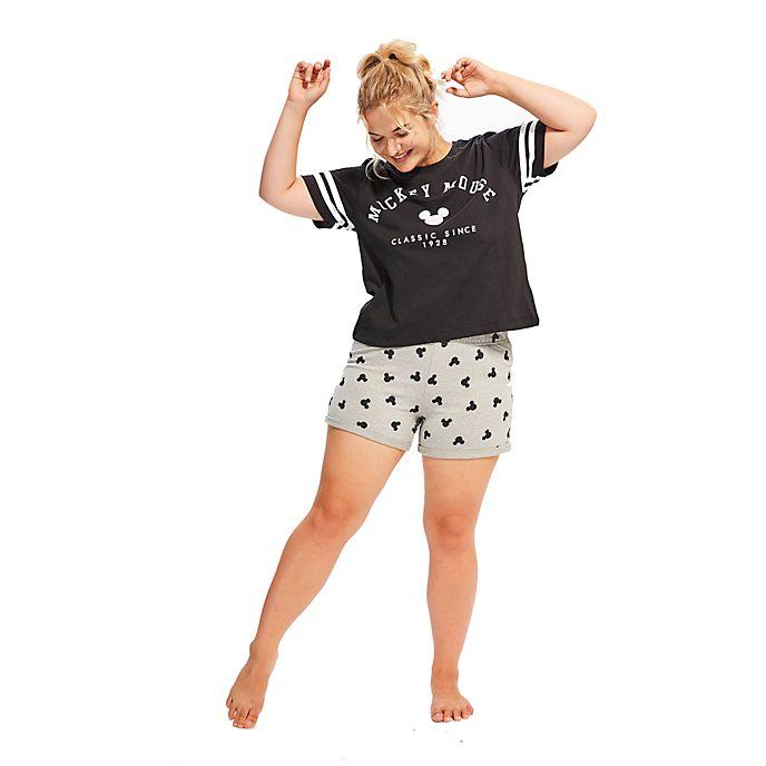 disney store micky maus kurz rmeliger pyjama f r damen. Black Bedroom Furniture Sets. Home Design Ideas