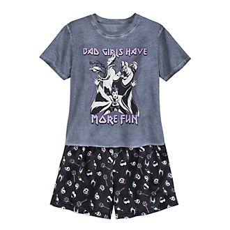 Pijama corto para mujer Disney Villains, Disney Store