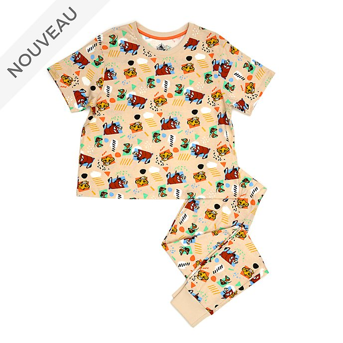 Disney Store Pyjama Le Roi Lion pour adultes, collection Oh My Disney