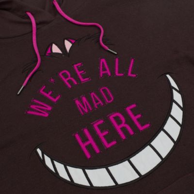 Cheshirekatten huvtröja i damstorlek