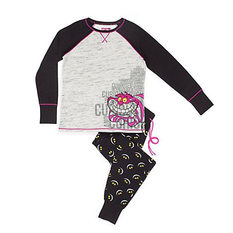 Grinsekatze - Pyjama für Damen