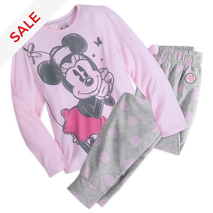 check out 3724e 44962 Minnie Maus - Pyjama für Damen
