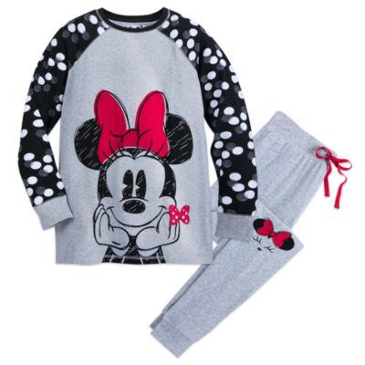 Minnie Rocks The Dots Ladies' Pyjamas