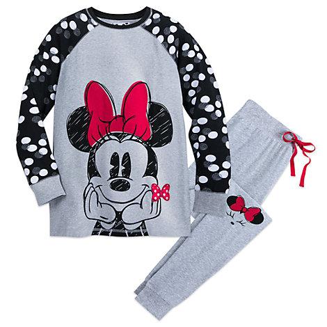 Minnie Rocks the Dots - Pyjama für Damen