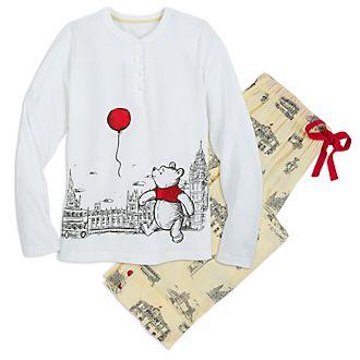 Disney Store Winnie the Pooh Ladies' Pjyamas, Christopher Robin