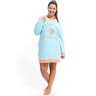 Disney Store Chemise de nuit molletonnée La Petite Sirène pour femmes