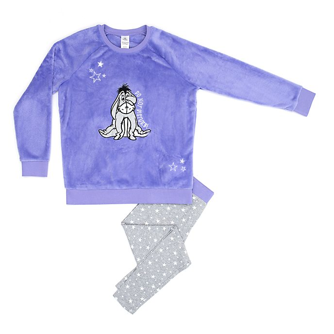 b3e4865ec9 Disney Store Eeyore Ladies  Fluffy Pyjamas