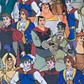 Disney Store Short princes Oh My Disney