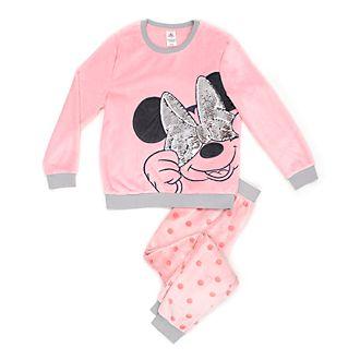 Disney Store Pyjama Minnie Mouse molletonné pour femmes