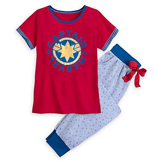 Disney Store Captain Marvel Pyjamas For Adults