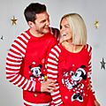 Disney Store Minnie Mouse Holiday Cheer Ladies' Pyjamas