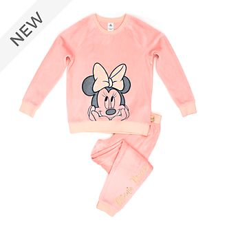 Disney Store Minnie Mouse Soft Feel Pyjamas For Adults