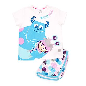 Disney Store Monsters Inc Shortie Pyjamas For Kids