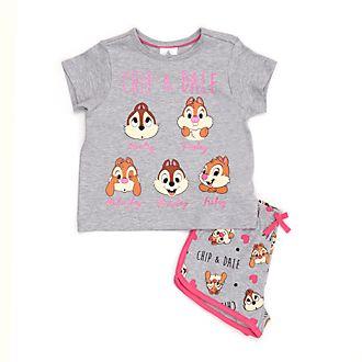 Pijama corto infantil Chip y Chop, Disney Store