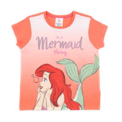 Disney Store - Arielle, die Meerjungfrau - Kurzärmeliger Pyjama