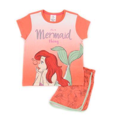 Disney Store The Little Mermaid Shortie Pyjamas