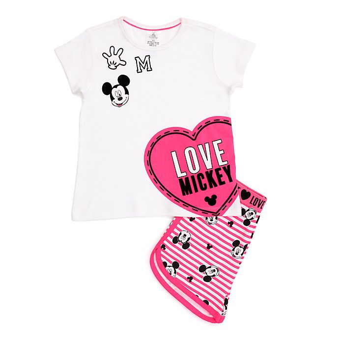 Disney Store Mickey Mouse Shortie Pyjamas For Kids