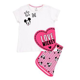 Disney Store Pyjama short Mickey Mouse pour enfants
