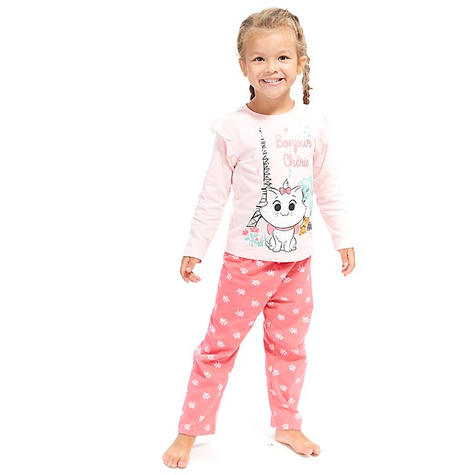 Disney Store Marie Furrytale Friends Pyjamas For Kids