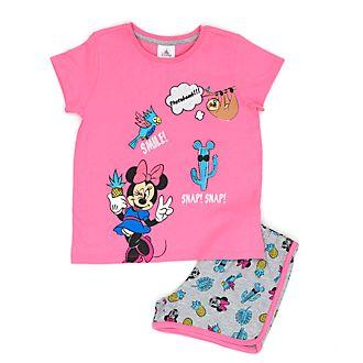 Disney Store Pyjama tropical Minnie Mouse pour enfants