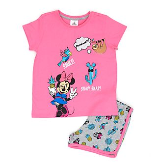 Disney Store Minnie Mouse Tropical Pyjamas For Kids