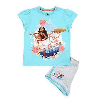 Disney Store Moana Pyjamas For Kids