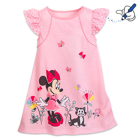 chemise de nuit pour enfants minnie mouse. Black Bedroom Furniture Sets. Home Design Ideas