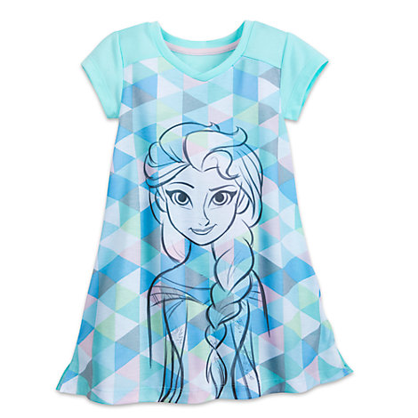 Elsa Nightdress For Kids