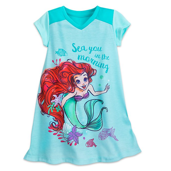 The Little Mermaid Nightdress For Kids