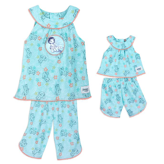 Set pigiami bimbi, collezione Disney Animators Vaiana Disney Store