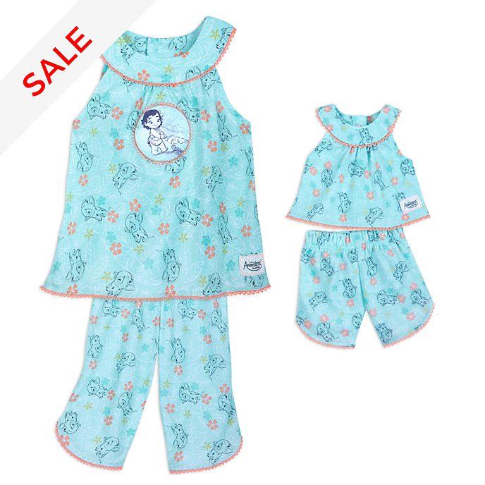 Disney Store - Disney Animators' Collection - Vaiana - Pyjamaset für Kinder und Puppe