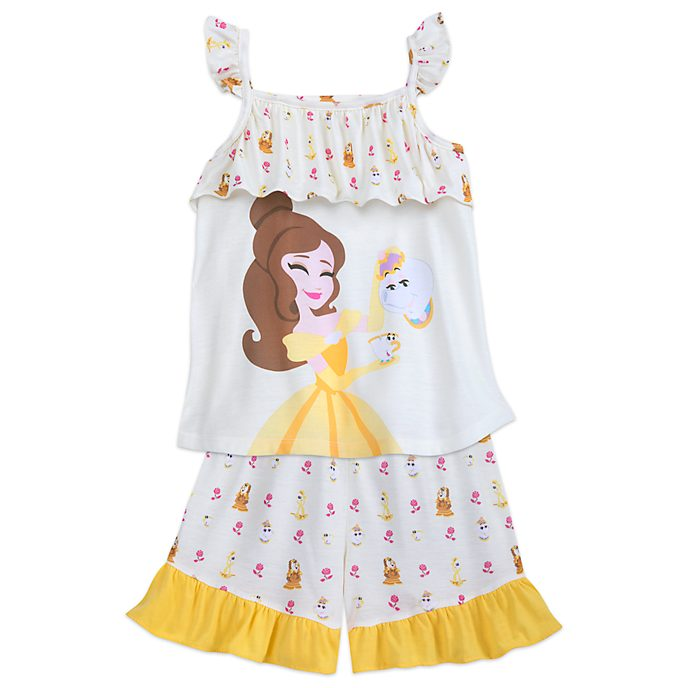Pijama infantil La Bella y la Bestia