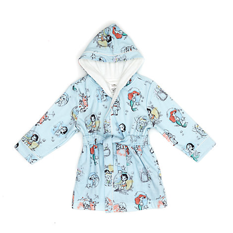 Disney Animators' Collection Dressing Gown For Kids