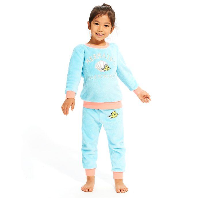 Disney Store The Little Mermaid Fluffy Pyjamas For Kids