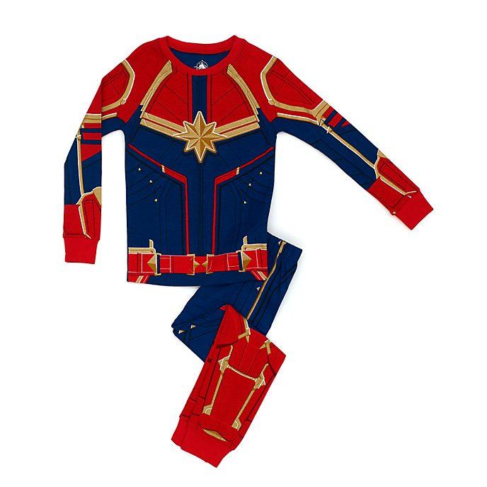 fe7fa2147c Pijama tipo disfraz infantil Capitana Marvel