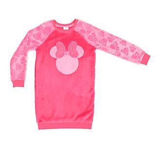 Disney Store Chemise de nuit Minnie Mouse molletonnée pour enfants
