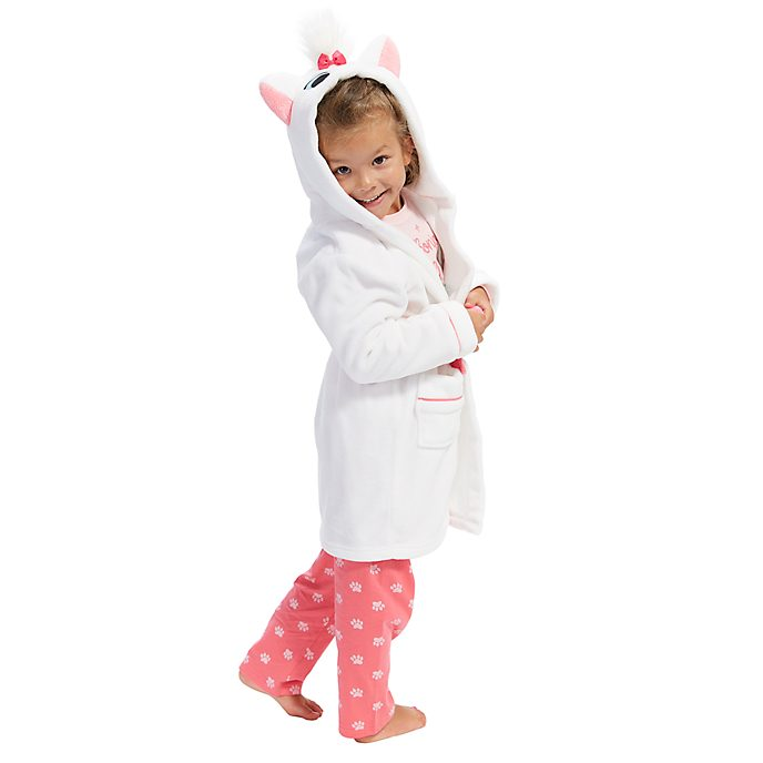 Disney Store Marie Furrytale Friends Dressing Gown For Kids