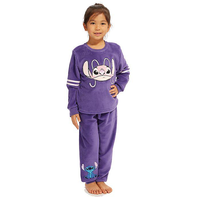 Disney Store Pyjama doux Stitch et Angel pour enfants