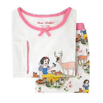 Cath Kidston x Disney pijama infantil escena del bosque Blancanieves